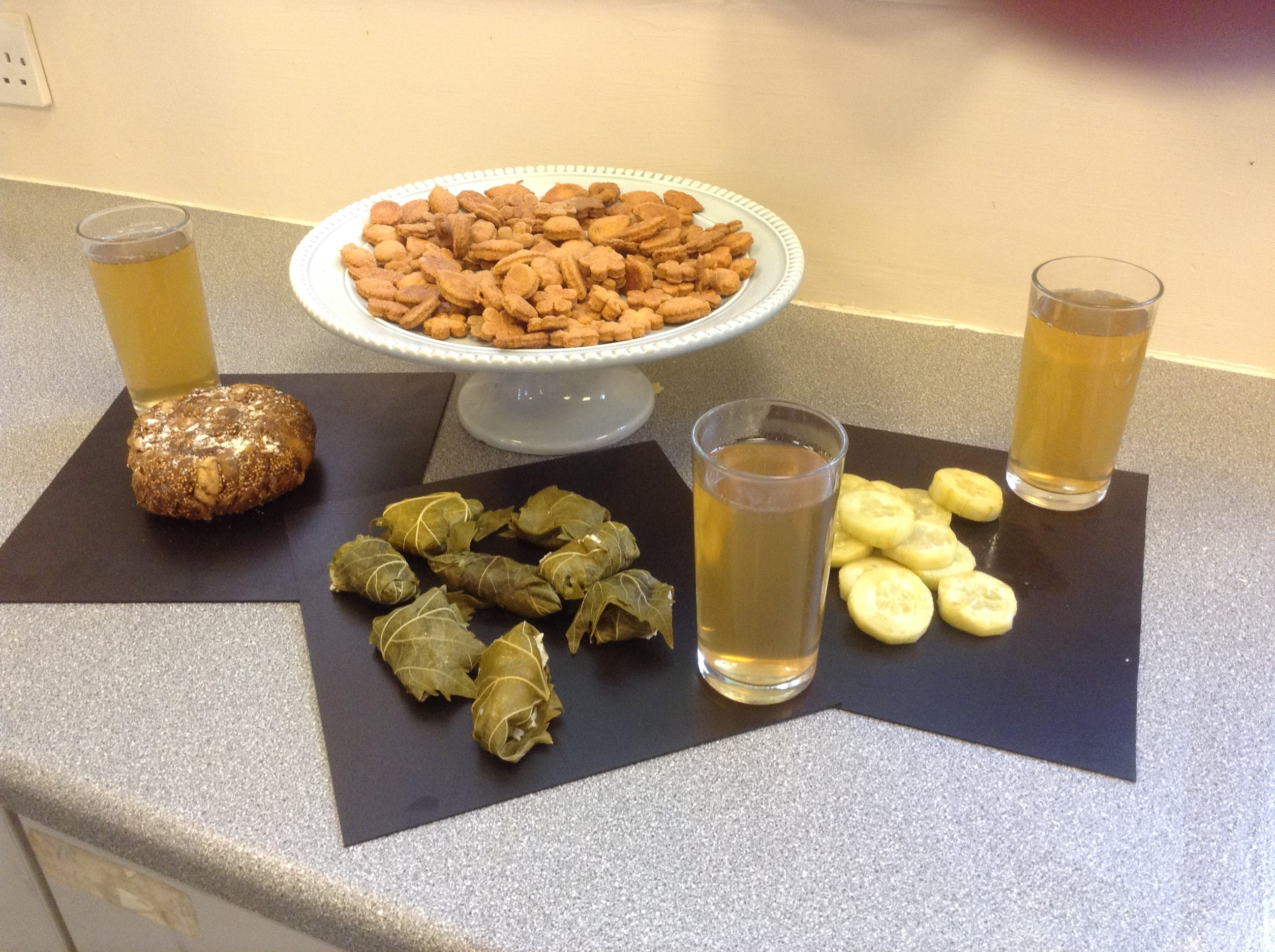 Examples of Roman food